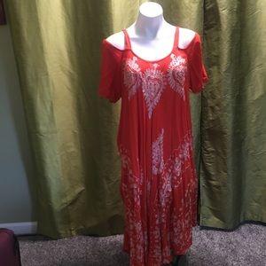 Dresses & Skirts - Orange sun dress